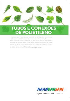 Catálogo de Tubos e Conexões em Polietileno