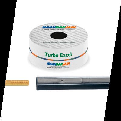 Tubo Gotejador Turbo Excel - Mais que um lançamento, uma evolução